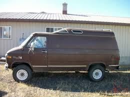 1979 Gmc GMC CHEVY 4X4 VAN CARGO HI TOP K35 K30 C30 3500 4WD LIFTED STEPSIDE