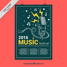 Creative Music Festival Poster Free Download