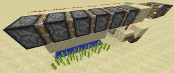 Minecraft Growing Pumpkins by Minecraft Redstone Automated Crop Farming Arqade