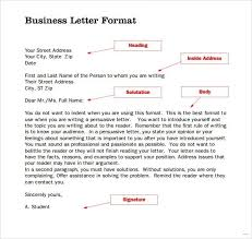 Standard Business Letter Format Flexible Imagine Second Page