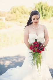 A Rustic Red And White Garden Wedding By Sun Sparrow