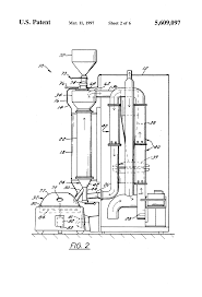 Fluid Bed Coffee Roaster by Patent Us5609097 Coffee Bean Roaster With Visual Display Column