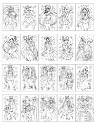 Sailor Moon World Coloring Book