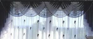 moderne gardinen querbehang sets fürs badezimmer günstig