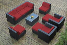 Outdoor Sectional Sofa Set by Collection 10pc Wicker Outdoor Sectional Sofa Set