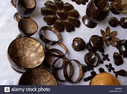 Crazy Household Articles Made Using Coconut Shellcoconut Shell Handicrafts Are Famous In Southern India