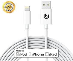 Amazon [Apple MFI Certified] 10ft Lightning Cable iPhone