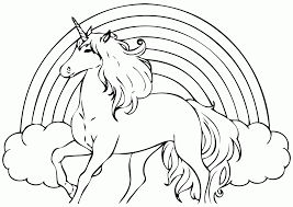 Realistic Unicorn Coloring Pages Home For Color