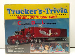 Trucker's Trivia GAME-CDL LICENSE-EXAM TEST STUDY-Truck Driver-WDAF ...