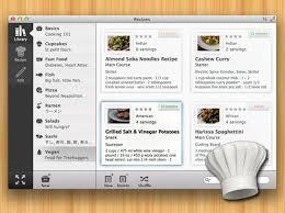 logiciel recette cuisine recipes 2 mac osx créer gérer et partager vos recettes de