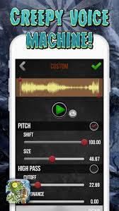 Halloween Scary Voice Changer by Scary Voice Changer U2013 Sound Generator And Audio Effect S Record Er