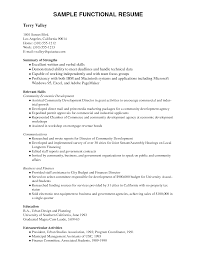 Resume Examples Objective Template