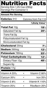 Nutrition facts are one way to municate healthy choices