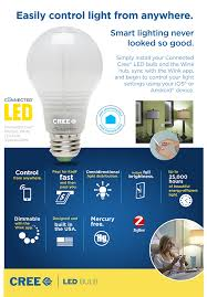 cree connected 60w equivalent soft white a19 dimmable led light
