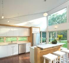 Hampton Bay Track Lighting Kitchen Contemporary With Island Modern Open