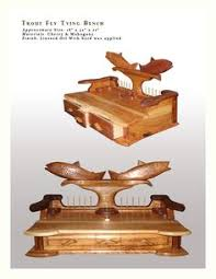 Fly Tying Table Woodworking Plans by Fly Tying Bench Amazing Work By Artist Roberto Lavadie Studio