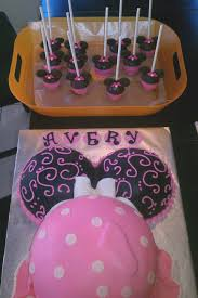 Top Minnie Mouse Baby Shower Cake Designs and Colors Modern