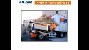 Roadway Trucking Jobs - YouTube