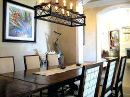 Rectangle Dining Room Chandelier Ideas Round Table With Rectangular