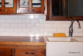 Light Blue Subway Tile by Subway Tile Backsplash Installed