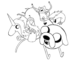 Free Adventure Time Coloring Pages To Print