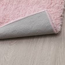 lindknud teppich langflor rosa 60x90 cm ikea schweiz