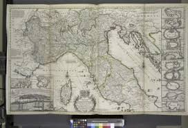 A New Map Of The Upper Part Italy Containing Ye Principality Piemont Dutchies Savoy Milan Parma Mantua Modena Tuscany Dominions