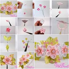 Cool How To Make Handmade Flowers From With 33 Ribbon