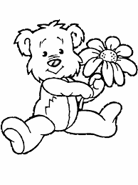 Flower Coloring Book Pages 400 775 Picture Animal And