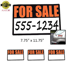 100 Signs For Trucks Amazoncom 3pc ALAZCO HighVisibility Magnetic Sale For