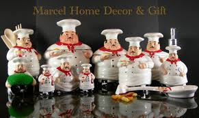 Chef Man Kitchen Decor Photo