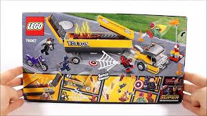 100 Lego Tanker Truck LEGO MARVEL TANKER TRUCK TAKEDOWN 76067 SET REVIEW Vido Dailymotion