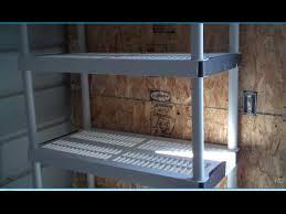 home depot hdx 5 shelf storage unit youtube