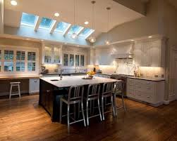 kitchen vaulted ceiling lighting living room vaulted ceiling