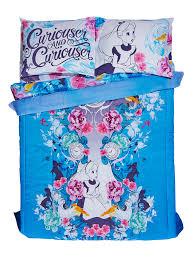disney alice in wonderland purple floral full queen comforter