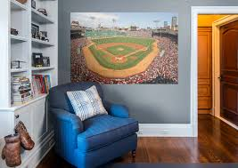 Boston Red Sox Fenway Park Behind Home Plate Mural Wall Decal