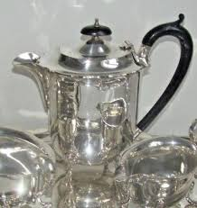 High Quality Pepper Payton Co Elegant Antique Victorian Silver Plated Coffee Pot