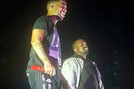 Watch Kanye West Join Kid Cudi On Stage In Chicago