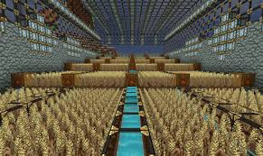 Minecraft Growing Pumpkins by Automatic Big Wheat Farm Minecraft Project