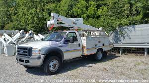 100 Altec Boom Truck Bucket Ford F550 With Lift AT37G Great Deal