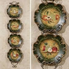 Abundant Fruit Decorative Plate Set