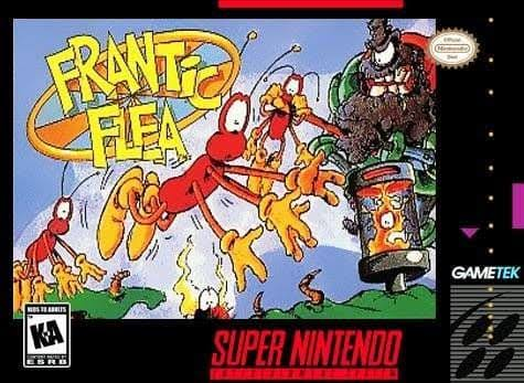 Frantic Flea - Nintendo Super NES