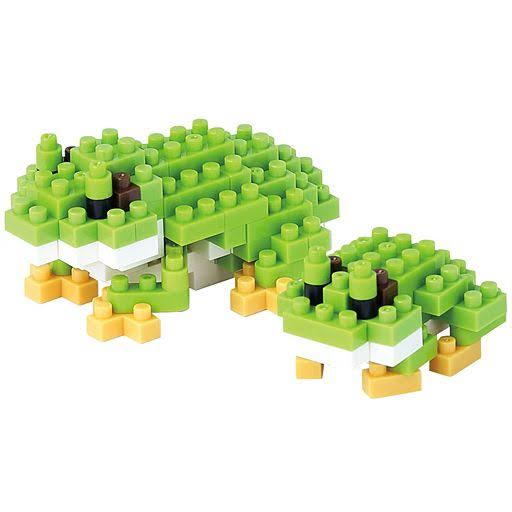 Nanoblock NBC161 Tree Frog Building Block - 120pcs