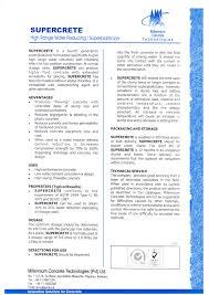 Millennium Concrete Technologies Pvt Ltd