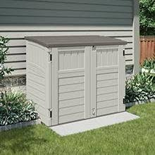 Rubbermaid Horizontal Storage Shed 32 Cu Ft by Amazon Com Suncast Bms2500 Horizontal Storage Shed Storage