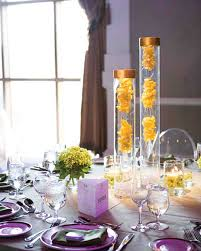 Graduation Decoration Ideas Martha Stewart by Yellow Wedding Centerpieces Martha Stewart Weddings
