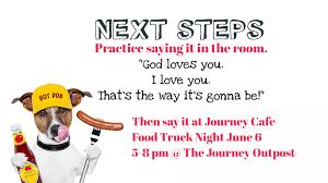100 Food Trucks Tulsa JOURNEY CAFE FOOD TRUCK NIGHT APPLIES ROMANS MESSAGE THE JOURNEY