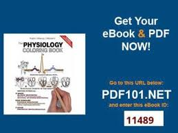 The Physiology Coloring Book 2nd Edition