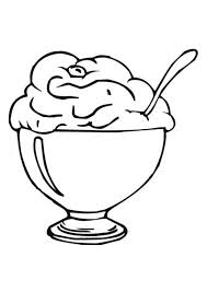 Best Ice Cream Coloring Pages Gallery Colorings Children Design Ideas