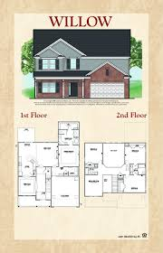 100 The Willow House Plan A Two Story Home By Grayhawk Homes Inc Grayhawk